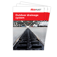 Outdoor drainage system