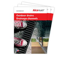 Outdoor drains and drainage channels